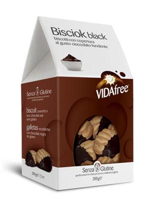 biscotti senza glutine bisciok black