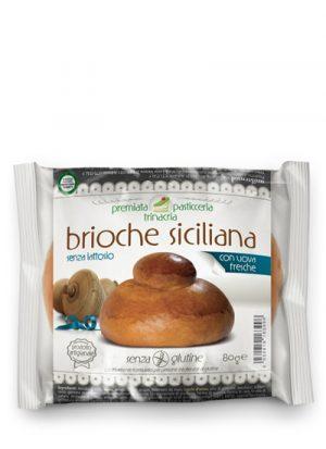 Brioche Siciliana senza glutine