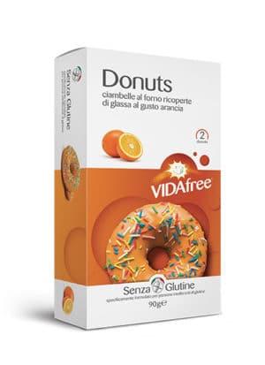 donuts senza glutine arancia