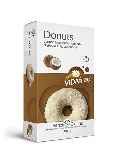 donuts senza glutine cocco