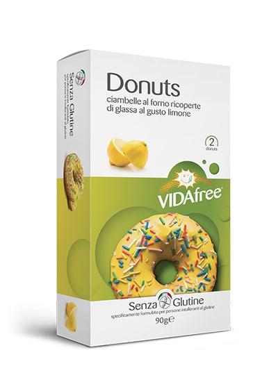 donuts senza glutine limone