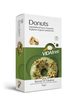 donuts senza glutine pistacchio