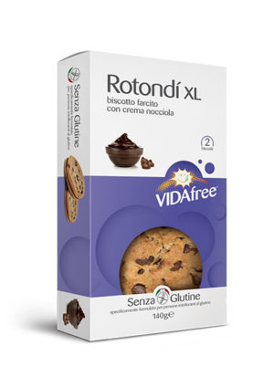 biscotti senza glutine rotondi crema nocciola